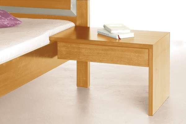 Bettkonsole Zum Einhängen Am Bett Aus Massivholz Purenature